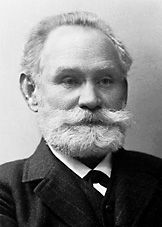 """Ivan Petrovich Pavlov - (September 14, 1849 - February 27, 1936) - Russian physiologist. Known for classical conditioning and is famous for the """"conditioned reflex"""".    Nobel prize in physiology or medicine 1904"""