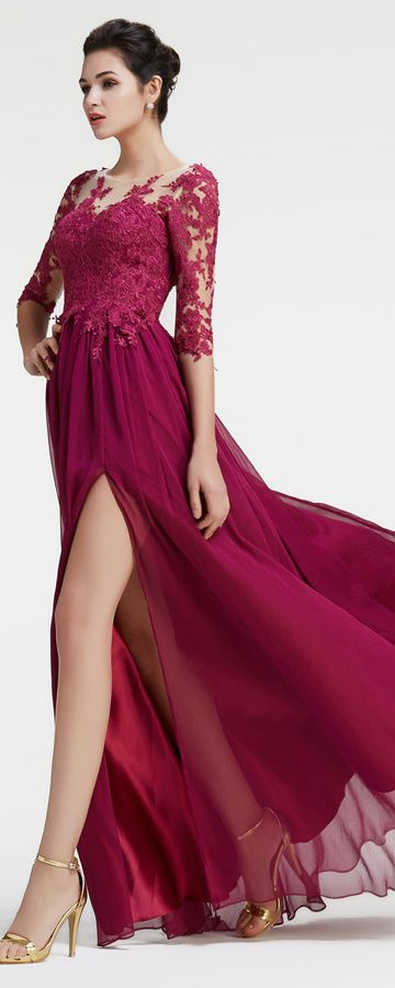 Plum bridesmaid dresses with sleeves magenta bridesmaid dress modest maid of honor dresses plus size formal dresses