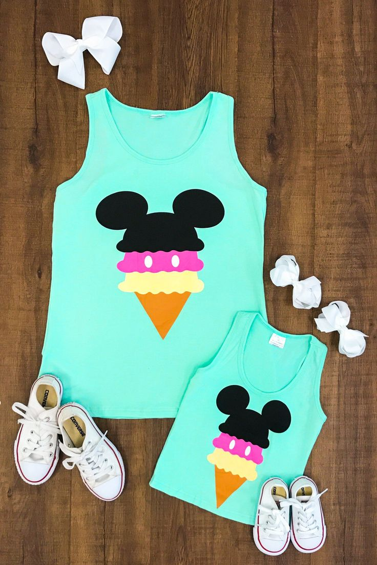 MINT Mommy & Me - Mickey Ice Cream