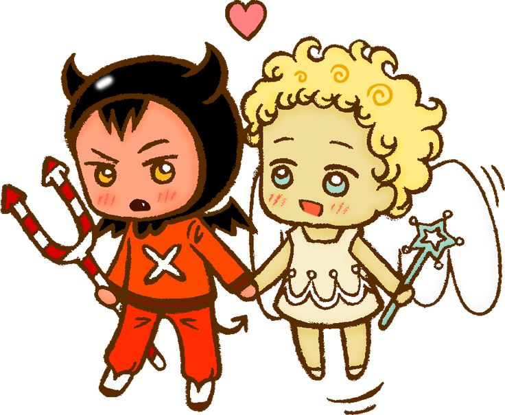 CookieRun - Devil x Angel cookie by megumimaruidesu on DeviantArt