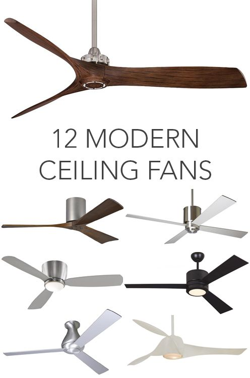 17 Best Ideas About Modern Ceiling Fans On Pinterest