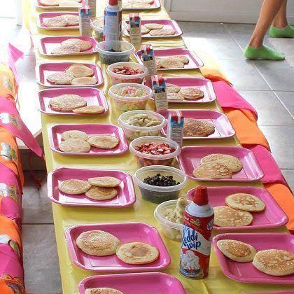 Pancakes and Pajamas Birthday