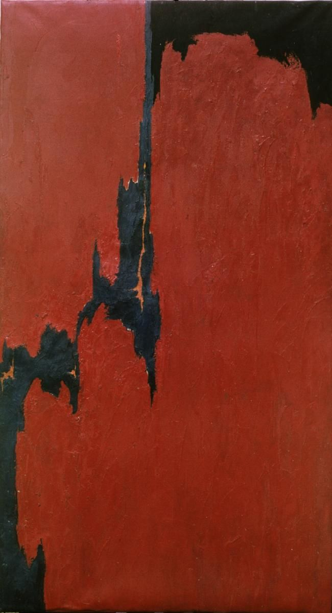 1951 Clyfford Still (paintings, plastic arts, visual arts, fine arts, abstract expressionism)