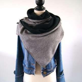 Tuto : Réaliser une grande chèche, le foulard tendance du second