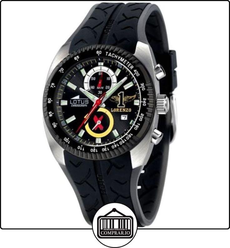 Lotus 15422/2- - Reloj de caballero de cuarzo, correa de caucho color varios colores de  ✿ Relojes para hombre - (Gama media/alta) ✿