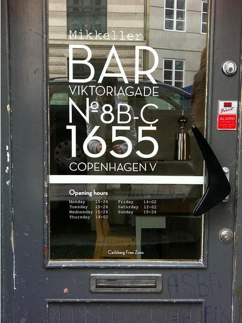 Restaurant Visit: Mikkeller Bar in Copenhagen: Remodelista