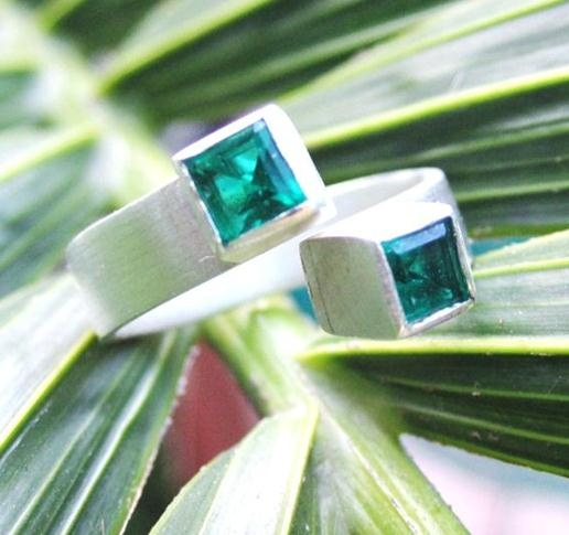 http://www.facebook.com/SEP.Designs  Awesome Emerald Ring