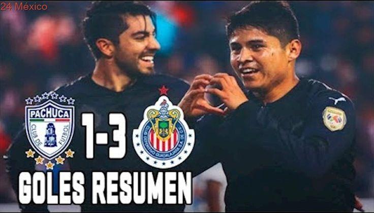 Pachuca vs Chivas 2017 1-3 GOLES RESUMEN Liga MX Jornada 8 Apertura 2017