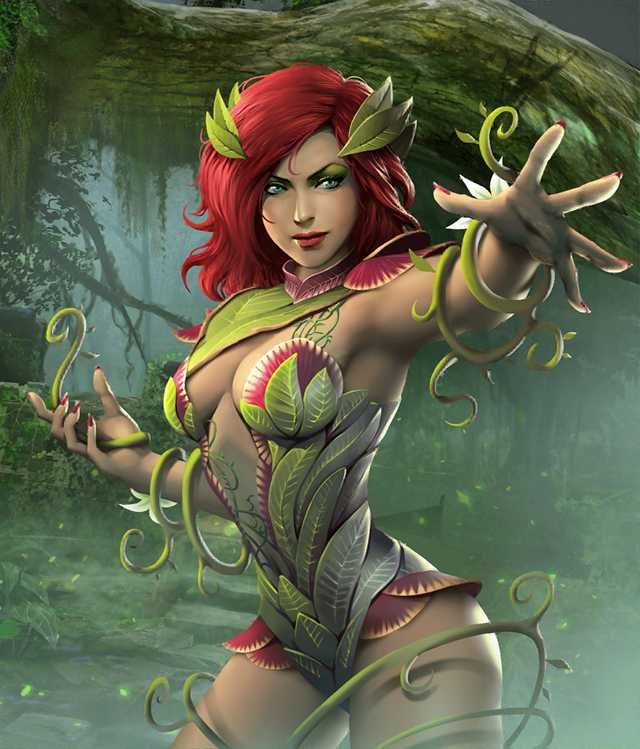 Injustice 2 Poison Ivy Poison Ivy Injustice Superhero