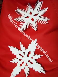 My Tutorial - snow crystal paper