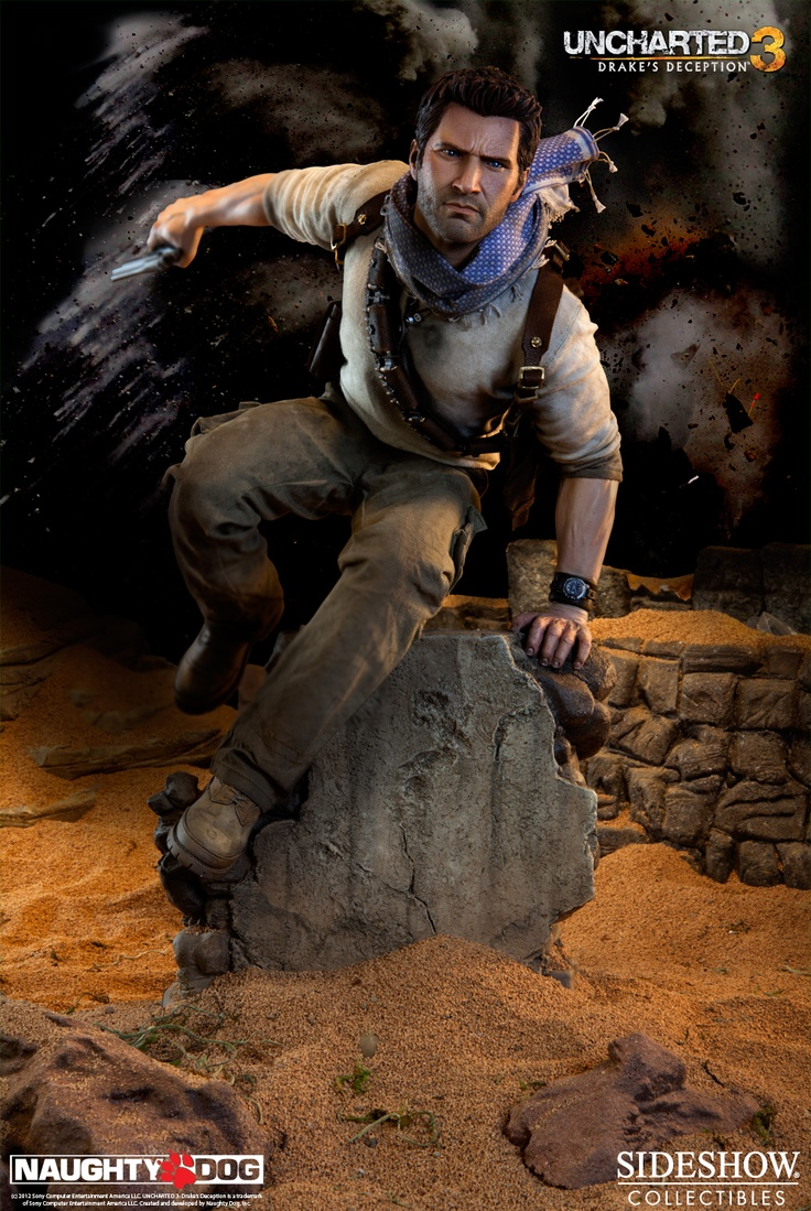 [SIDESHOW] Uncharted 3: Nathan Drake Premium Format Statue