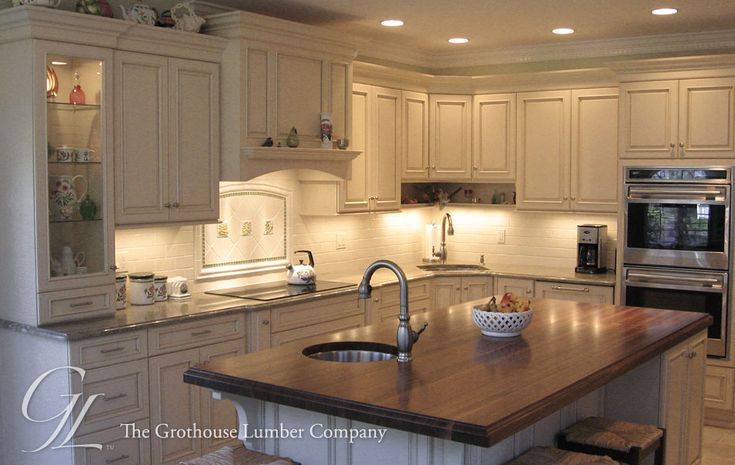 Pin On Kitchen Islands With Wood Countertops
