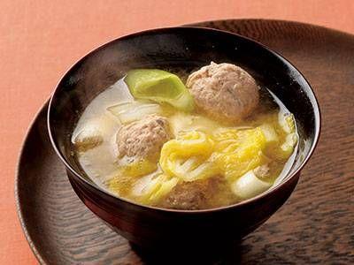 いわしのつみれ汁レシピ 講師は土井 善晴さん|使える料理レシピ集 みんなのきょうの料理 NHKエデュケーショナル