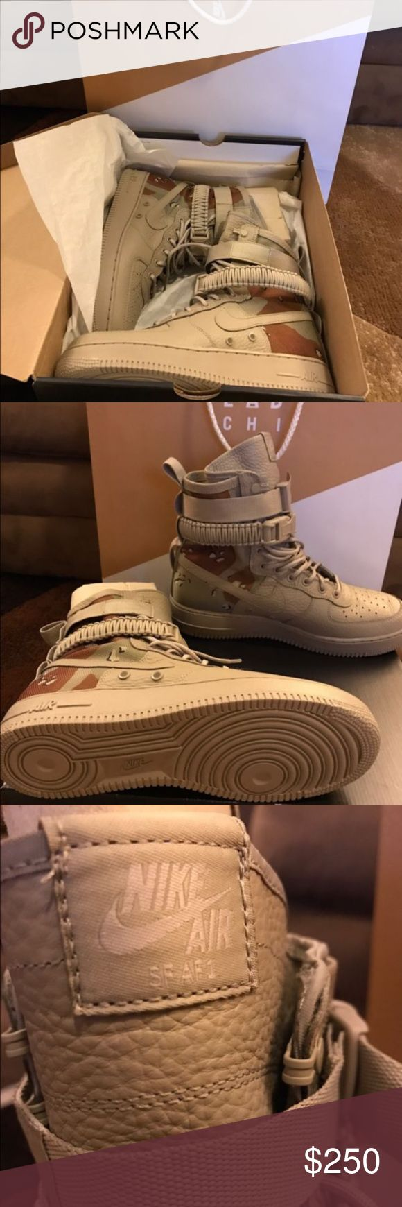 SPECIAL FEILD AIR FORCE 1s 100% Authentic Nike products, Rare sneaker, Comes with receipt to verify authenticity, text us at (248) 886-6994 Nike Shoes Sneakers