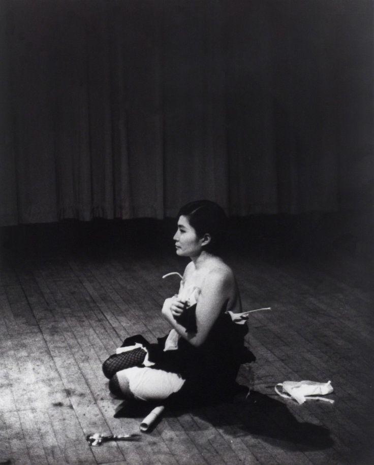 Yoko Ono, 'Cut Piece (1964) performed by Yoko Ono in New Works of Yoko Ono, Carnegie Recital Hall, New York, March 21, 1965,' 1964 -1965, Museum of Modern Art