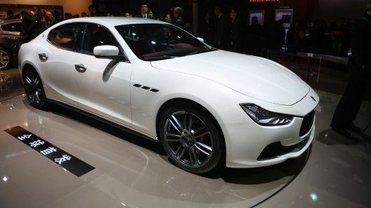 Maseratis new sedan take on a 60s classic has made its debut in Shanghai.