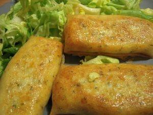 Bricks poulet-pommes de terre