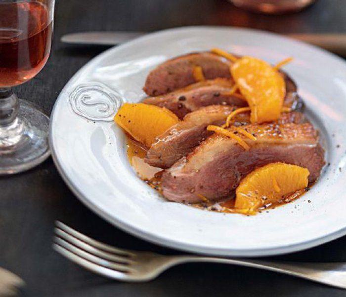 Magrets de canard sauce bigarade