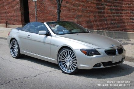 BMW 645 Convertible with VTP