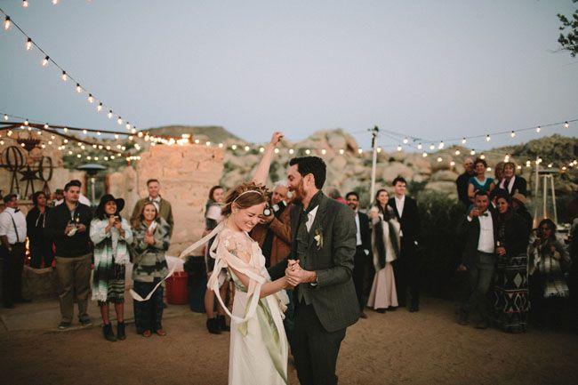 Joshua Tree Ruins Wedding