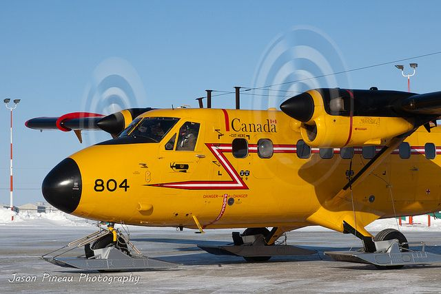 RCAF Twin Otter Ready to depart Cambridge Bay.