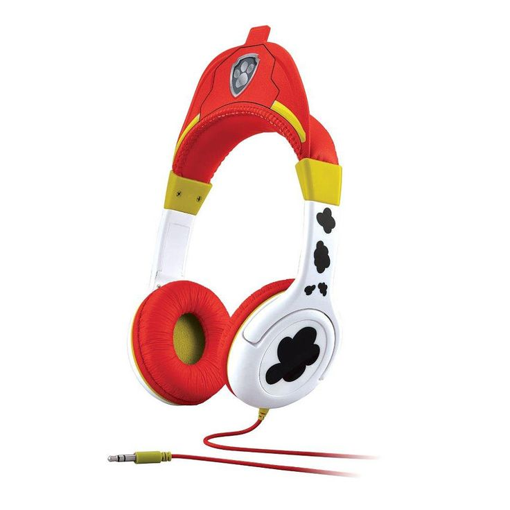 Paw Patrol Over the Ear Headphones Assortment - Listen to your tunes while out on patrol with Marshall or Chase. Connect any music device and power up a playlist , anywhere, anytime!<br><br>Tackle the high-stakes rescue missions of the Paw Patrol with action-figure pups, plush pups, transforming vehicles, play sets and more from Toys'R'Us. Team up with the six heroic puppies: Chase, Rocky, Marshall, Skye, Zuma, and Rubble who are led by a tech-savvy 10-year-old-boy named Ryder. Paw Patrol…