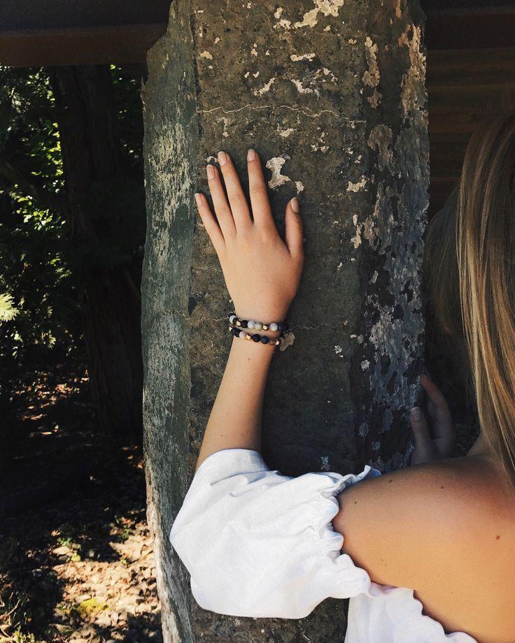Nature stone pearls make it special 👱🏼♀️💫 #myNoelia #myAnalie #myownbracelet