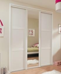Shaker Panel Door White | Sliding Wardrobe Doors | Doors & Joinery | Howdens Joinery