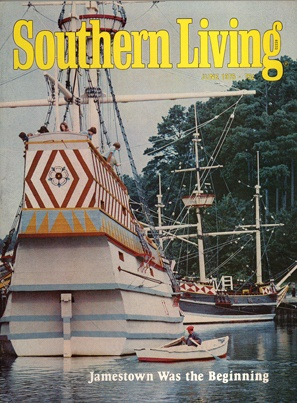 June 1975 | Jamestown Was the Beginning: Southern Living, Southern Things, June 1975, Jamestown Settlement, My Families, Living Covers, My Family