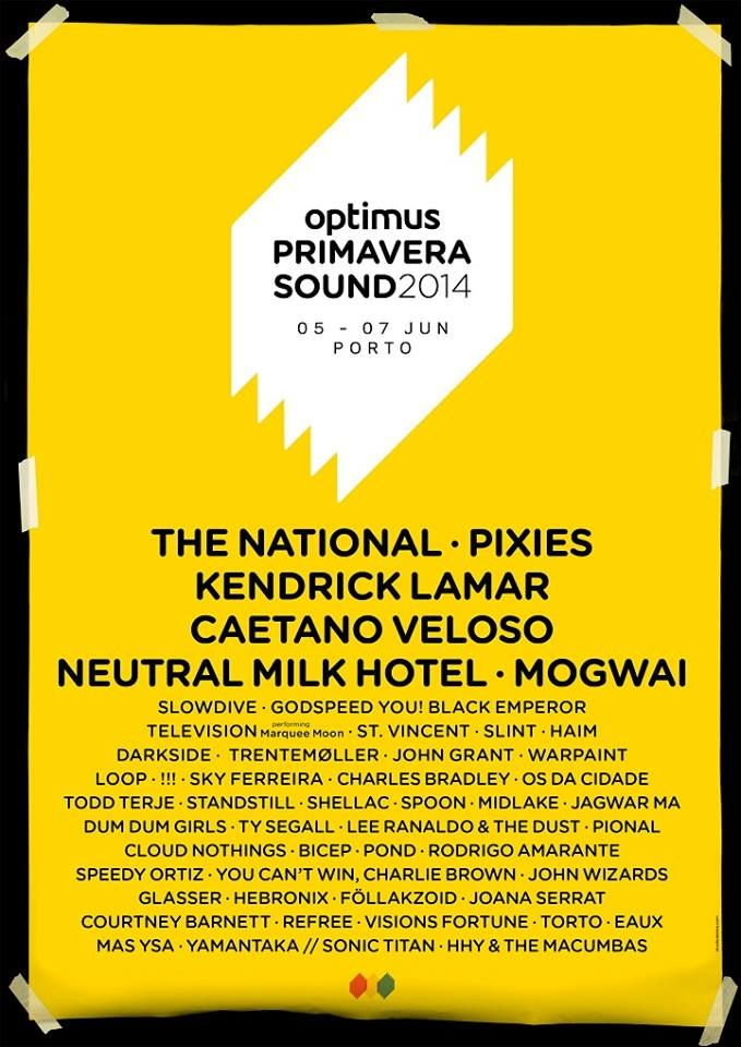 Optimus Primavera Sound 2014 www.optimusprimaverasound.com