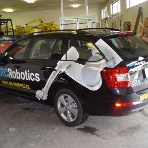 polep auta arc robotics