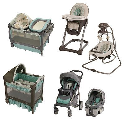 Graco Winslet Baby Gear Collection... I like the colors