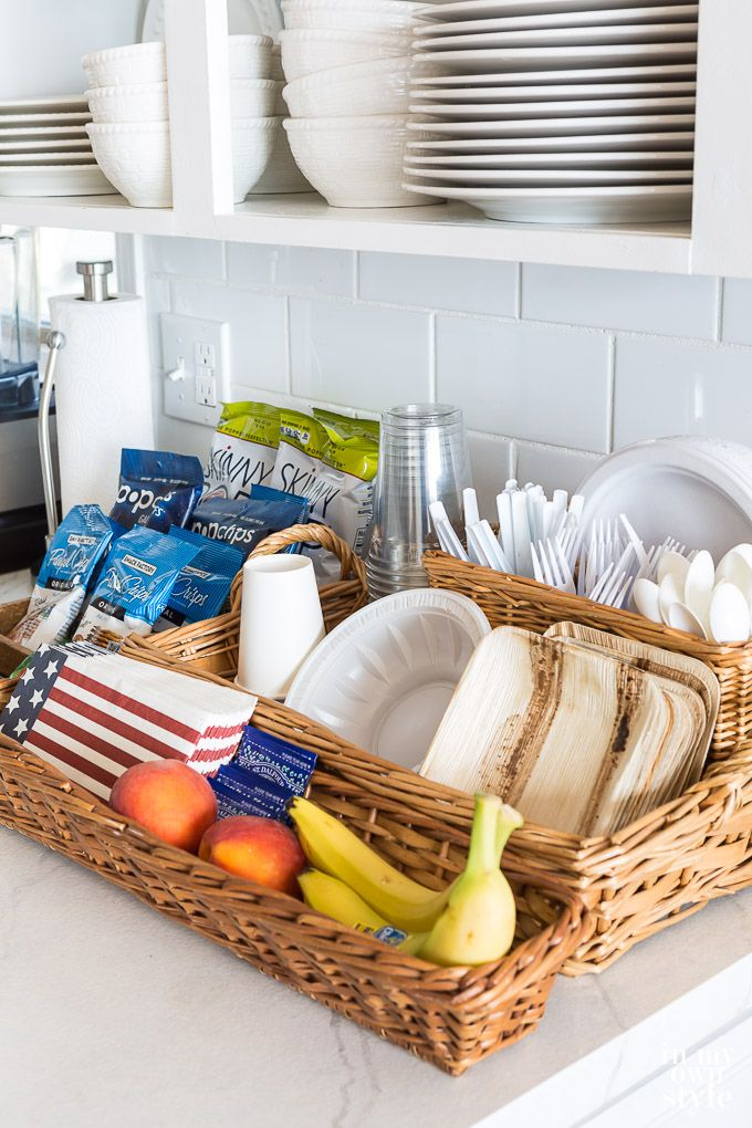 Snacks and food ideas for overnight guests placed on kitchen counter on basement kitchen ideas, industrial kitchen ideas, pool kitchen ideas, apartment kitchen ideas, farmhouse kitchen ideas, island kitchen ideas, farm kitchen ideas, bar kitchen ideas, barn kitchen ideas, camping kitchen ideas, cabin kitchen ideas, vineyard kitchen ideas, ranch kitchen ideas, handicap accessible kitchen ideas, townhouse kitchen ideas, cottage kitchen ideas, family room kitchen ideas, cafe kitchen ideas, restaurant kitchen ideas, horse kitchen ideas,