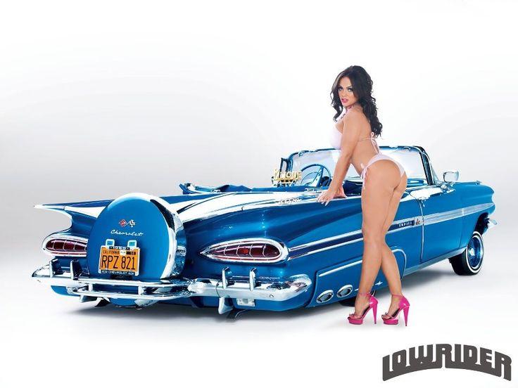 1959 Chevy Impala Ragtop~Angelina Ivy