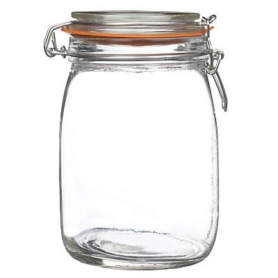 Buy Glass Lever Arm Preserving Jars online at JohnLewis.com - John Lewis