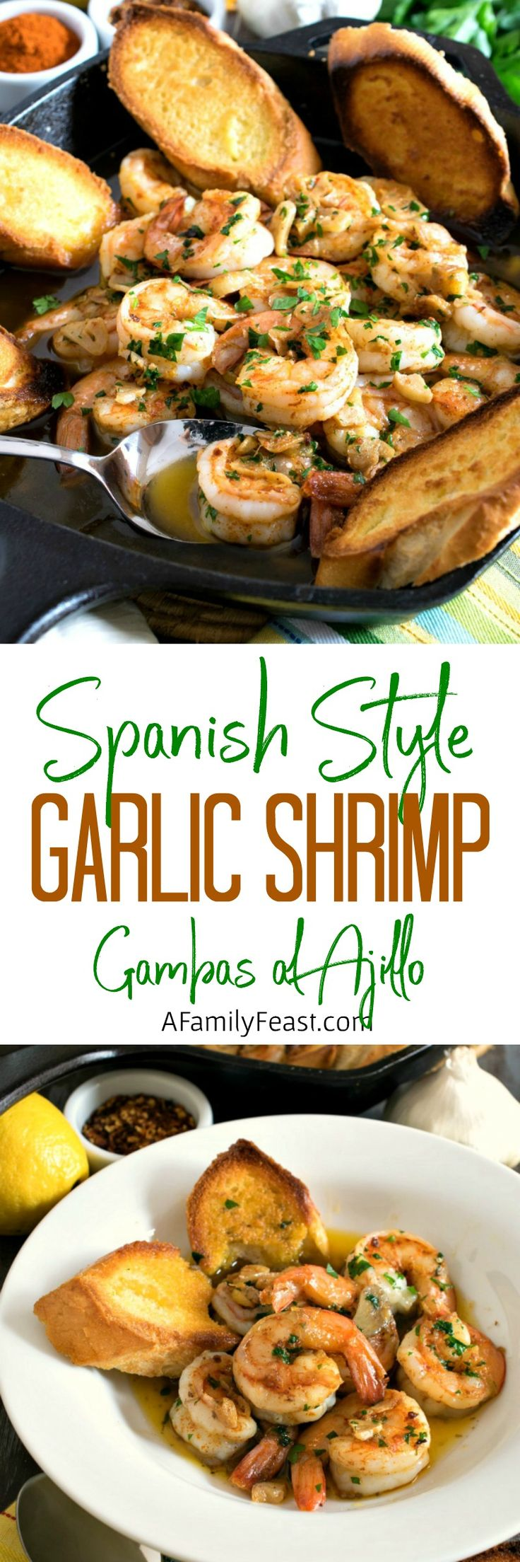 Spanish-Style Garlic Shrimp (Gambas al Ajillo)