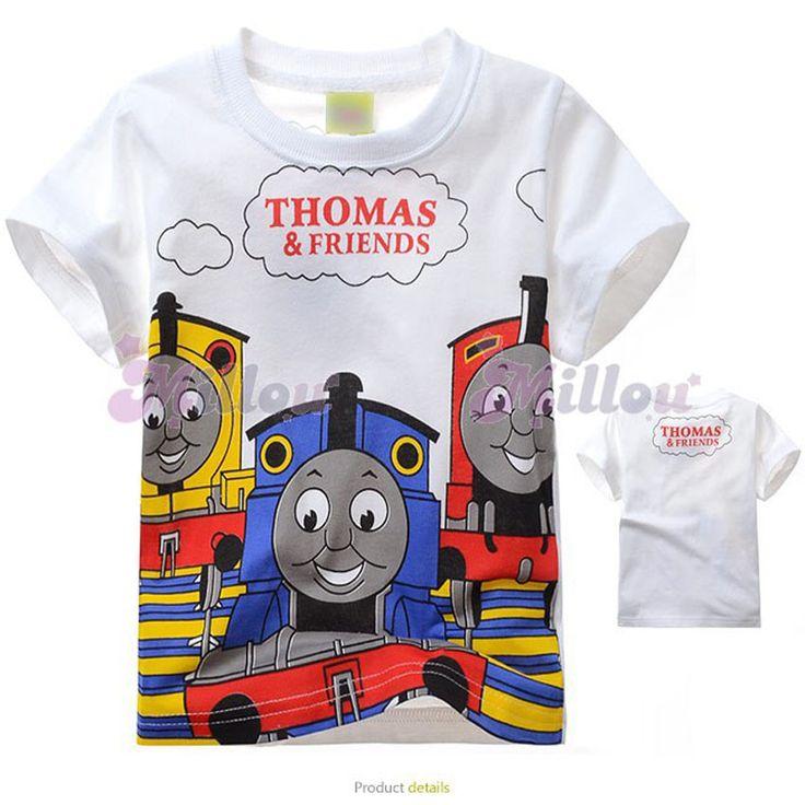 Now selling: 2017 Thomas & Friends Kids T shirt Cotton Short Sleeve http://www.autasticshop.com/products/2017-thomas-and-friends-kids-t-shirt?utm_campaign=crowdfire&utm_content=crowdfire&utm_medium=social&utm_source=pinterest