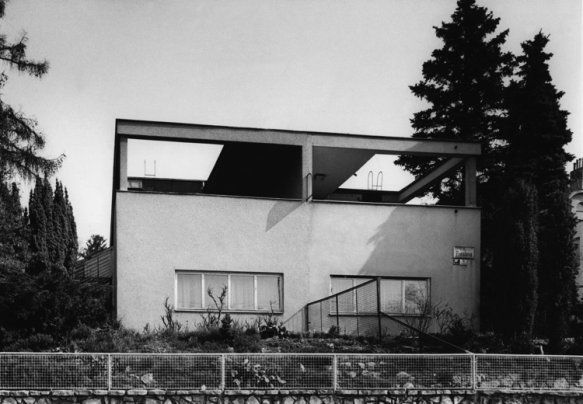 A semi-detached house for son and daughter | Objects | Brno Architecture Manual. A Guide to 1918-1945 Architecture