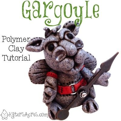 Polymer Clay Gargoyle Tutorial