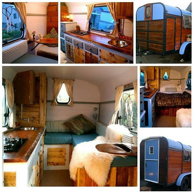 Our 5 week project is complete.. So happy with the result, turned a leaking cattle trailer into #boho #shepherds hut to go #camping in. What do you guys think?? #caravan #gypsy #building #project #getcreative #travel #liveoutdoors