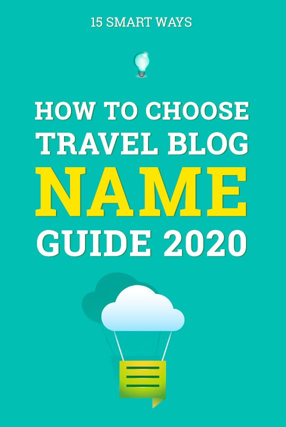 How To Choose Travel Blog Name 15 Smart Ways In 2020 50 Examples Travel Blog Blog Names American Travel