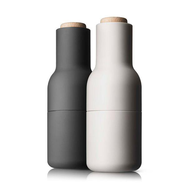menu ボトルグラインダースモール2Pセット(Ash&Carbon)【ソルト&ペッパーミル/Bottle Grinder/メニュー/ギフト/キッチンツール/デンマーク/スカンジナビアンデザイン/NORM】 【cc-gy】【楽ギフ_包装】【楽ギフ_のし宛書】【楽天市場】