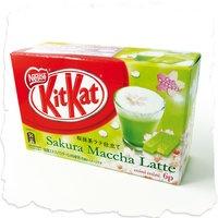 Kit-Kat Japonais Sakura Maccha Latte