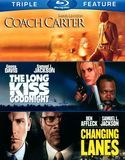 Coach Carter/The Long Kiss Goodnight/Changing Lanes [3 Discs] [Blu-ray], 1000437265