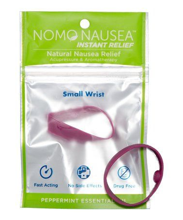 Small Purple Peppermint Anti-Nausea Band - Set of Two #zulily #zulilyfinds