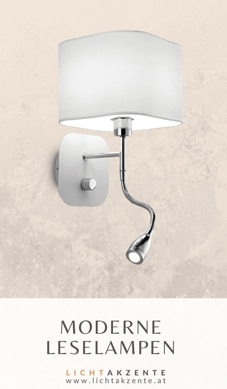 Ideal Lux Wandlampe mit LED Leselampe Holiday in 18  Led