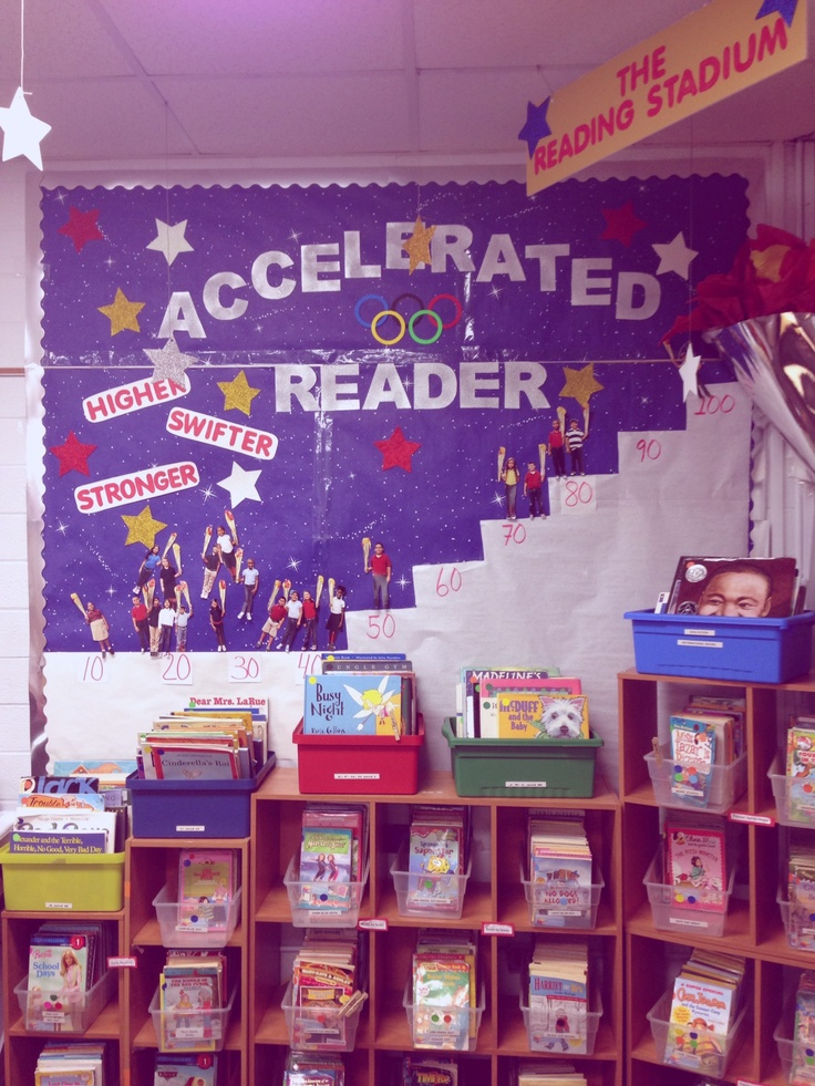 Accelerated reader board