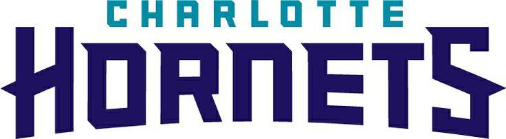 Charlotte Hornets Word-mark logo (2014/15-Present)