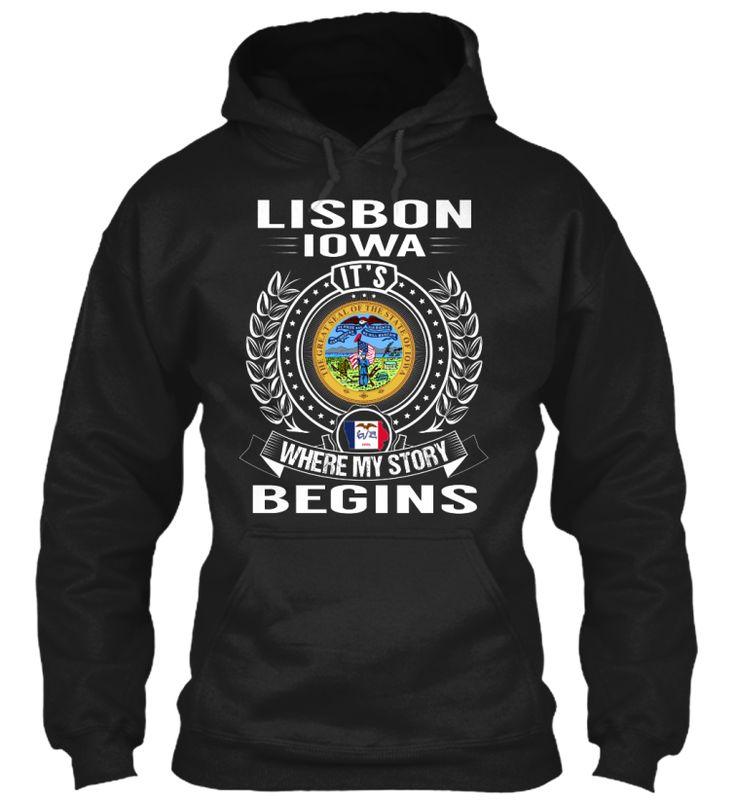 Lisbon, Iowa - My Story Begins