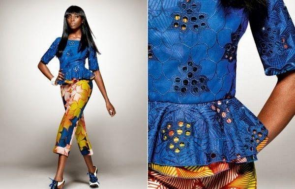 Beautiful Lace and Ankara Design - DeZango Celebrities Zone